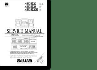 Diagramas y manuales de servicio de AUDIO (Equipos de