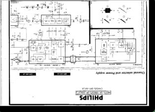 Diagrama/Manual PHILIPS PHILIPS 21GR 1366 Y 20GR 1356 GR1