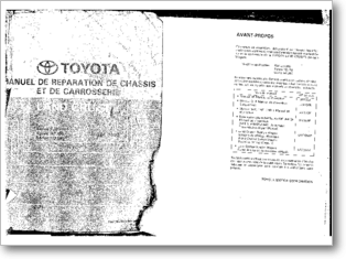 Diagrama/Manual Toyota Toyota Land Cruiser FJ80