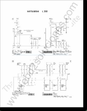 Diagrama/Manual Mitsubishi L200