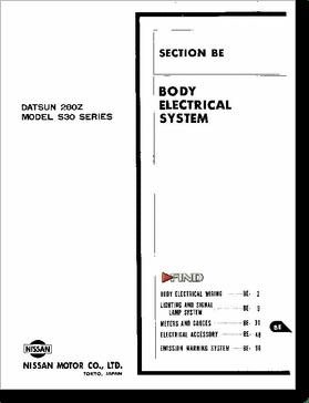 Diagrama/Manual Nissan nissan datsun280z