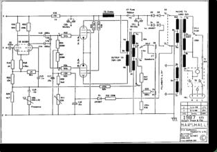 Diagrama/Manual Marshall 1987STD