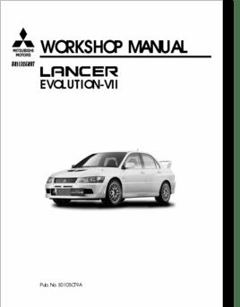 Diagrama/Manual Mitsubishi 2001
