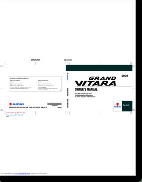 Diagrama/Manual Suzuki