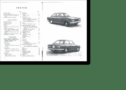 Diagrama/Manual SEAT Seat 124 Sport 1600