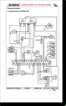 Diagrama/Manual Peugeot 306 y 405