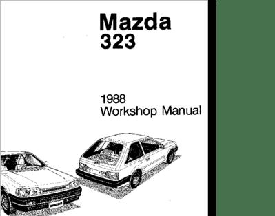 Diagrama/Manual Mazda Mazda 323 1988