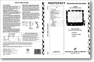 Diagrama/Manual SANYO Sanyo DS27580 27580-00