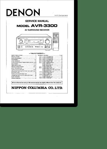 Diagrama/Manual AVR3300