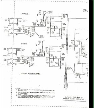 Diagrama/Manual Sunn Alpha Six-Eight
