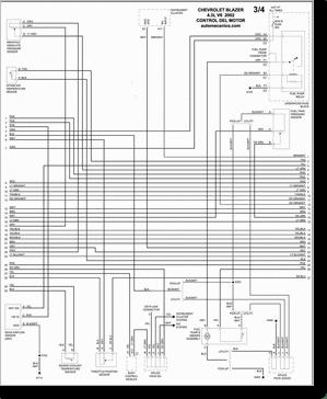 Diagrama/Manual CHEVROLET Blazer 000