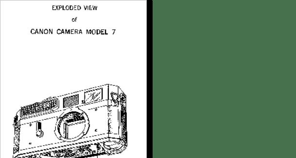 Diagrama/Manual CANON 7