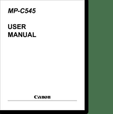 Diagrama/Manual Canon mp 250