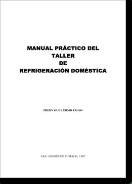 Diagrama/Manual CURSO Refrigeracion Reparaciones generales