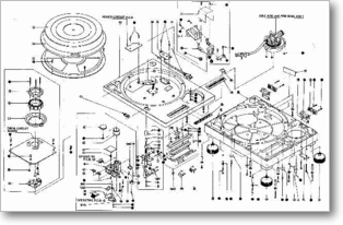 Diagrama/Manual TECHNICS 1200 mk2