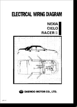 Diagrama/Manual Daewoo Racer, Nexia & Cielo