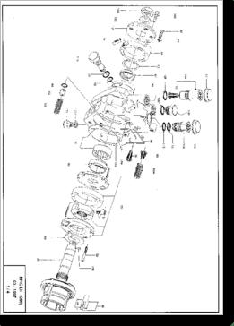 Diagrama/Manual Varios Despiece bomba inyectora EPIC HSDI