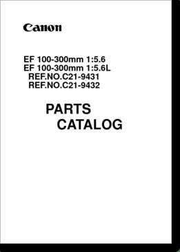 Diagrama/Manual Canon EF