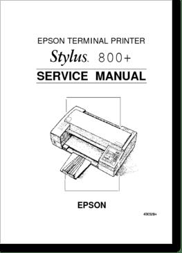 Diagrama/Manual Epson p780b