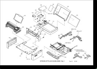 Diagrama/Manual Epson Scan 2500