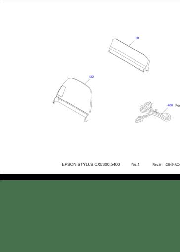 Diagrama/Manual Epson CX-5300, CX-5400