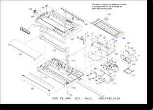 Diagrama/Manual Epson FX-1180+