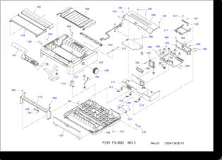 Diagrama/Manual Epson FX890