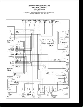 Diagrama/Manual FORD Explorer 1996