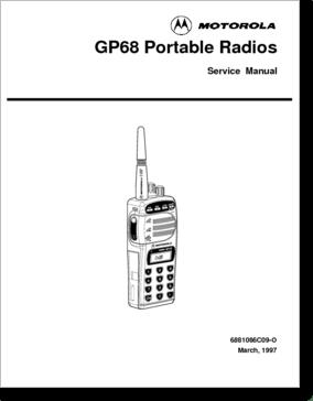 Diagrama/Manual Motorola Gp68