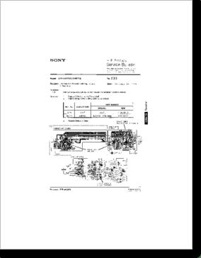 Diagrama/Manual SONY STR-GX57ES, STR-GX67ES