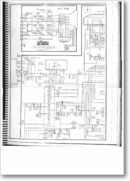 Diagrama/Manual HITACHI HITACHI CPT-1420R