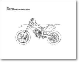 Diagrama/Manual Honda CRF450R-2005
