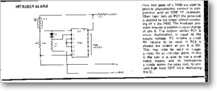 Diagrama/Manual ALARMAS ALARMA