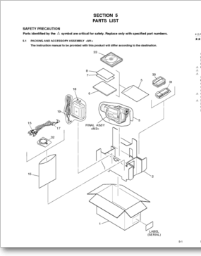 Diagrama/Manual JVC