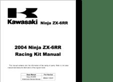 Diagramas y manuales de servicio de Motocicleta KAWASAKI