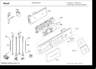 Manual de instrucciones para Lavadoras Bosch Maxx