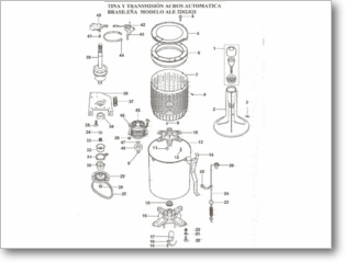 Diagrama/Manual Whirlpool ALE320 Q01