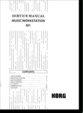 Diagrama/Manual Korg M1