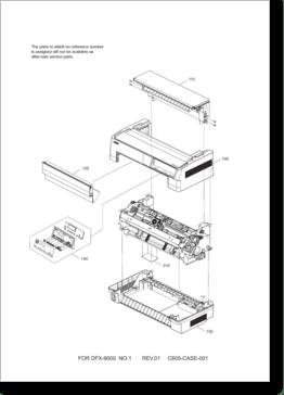 Diagrama/Manual Epson DFX-9000