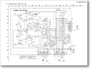 Diagrama/Manual SONY MHC-DX5