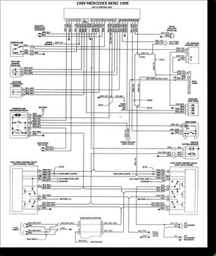 Diagrama/Manual Mercedes Benz 190E