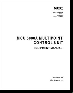 Diagrama/Manual NEC