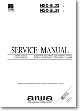 Diagrama/Manual Aiwa AIWA NSX-BL24