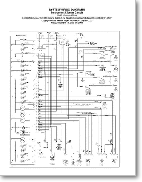 DiagramaManual Nissan Altima 1997