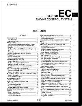 Diagrama/Manual Nissan SENTRA SRVICE
