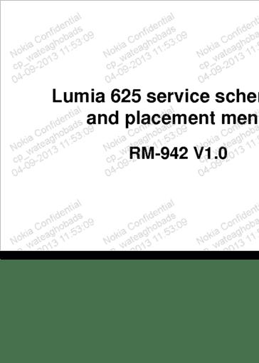 Diagrama/Manual Nokia Lumia 625