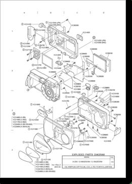 Diagrama/Manual OLYMPUS X-200, D-560Z, C-350Z
