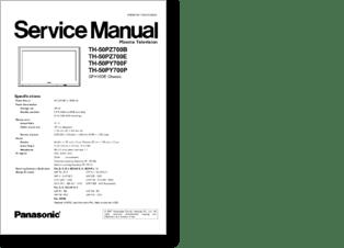 Diagramas y manuales de servicio de Televisores LCD y
