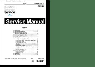 Diagramas y manuales de servicio de TV PROYECCION SONY