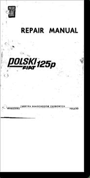 Diagrama/Manual fiat 125